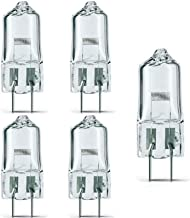 (Pack of 5)- FCS 150W/T4/24V/CL/G6.35 150-watt 24-Volt Bi-Pin Based Stage and Studio T4 Bulb Light Lamp Halogen, Clear/for...