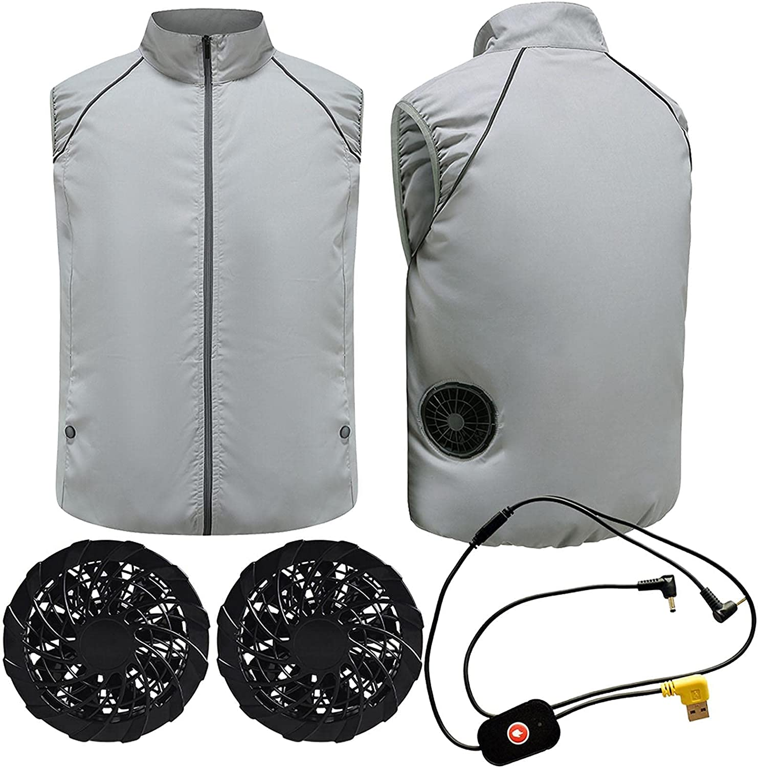 ZHANGSHOP New sales Cooling store Fan Vest Conditioned Clothes Evaporative Cool