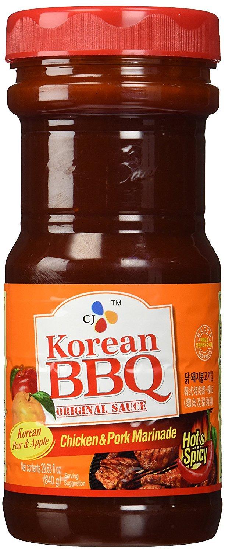 HotSpicy CJ lowest price Large special price Korean BBQ Original Sauce Chicken Pork Marinade