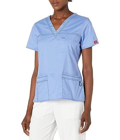 Dickies Genflex Junior-fit V-neck Scrub Shirt
