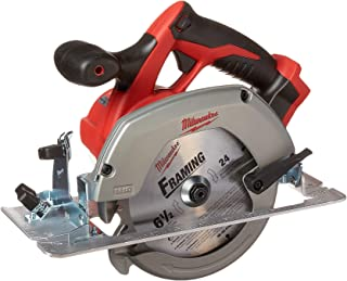 "Milwaukee M18 2630-20 18 Volt Lithium Ion 6-1/2"" 3,500 RPM Cordless Circular Saw w/.."