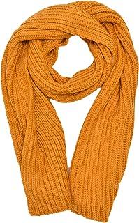 [Kiitos] マフラー レディース ニット リブ編み ロング ボリューム 厚手 ストール 暖かい 無地 おしゃれ かわいい