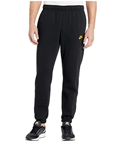 Nike NSW Club Pants Cuffed (Black/Black/Metallic Gold) Men