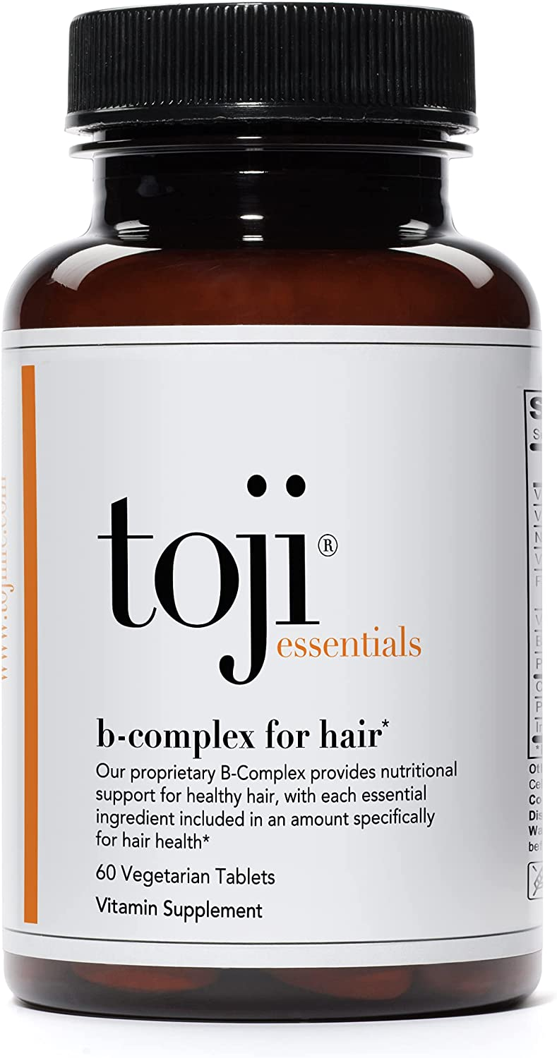 Toji: Max 62% OFF B-Complex Hair Vitamins with Health and Special Campaign Folate for Biotin