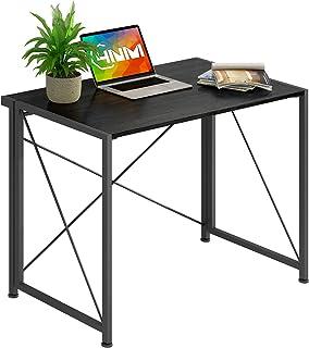 4NM مكتب قابل للطي بدون تجميع مكتب كمبيوتر صغير طاولة كمبيوتر محمول مضغوط مكتب منزلي مكتب دراسة طاولة لتوفير المساحة طاولة...