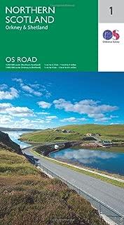 North Scotland. Orkney & Shetland (OS Road 1)