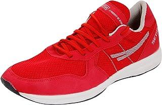 Sega Unisex Red And White Running Shoes - 10 Uk