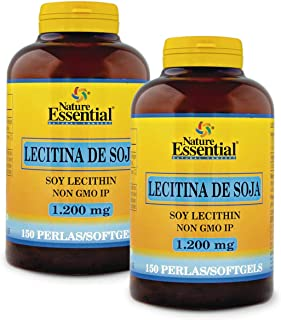 Lecitina de soja 1200 mg. 150 perlas (Pack 2 unid.)