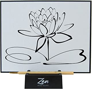 Zen Artist Board, Paint with Water Relaxation Meditation Art, Relieve Stress, Large Magic Painting Board Drawing with Wate...