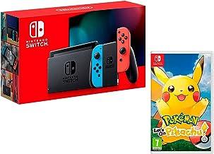 Nintendo Switch 32Gb Neon-Rot/Neon-Blau + Pokémon: Let´s Go, Pikachu!