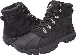 kingshow Mens GW-1586 Men's 1586 Waterproof Snow Winter Boots
