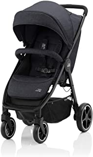 Britax Romer B-AGILE M Stroller for Group 01,From 0-4 YEARS,From 0-22 kg -Black Shadow
