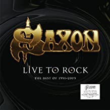 Saxon: Live To Rock - The Best Of 1991-2009 [Winyl]