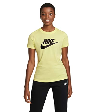 Nike Sportswear Tee Essential Icon Futura (Light Zitron/Black) Women