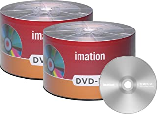 100 Pack Imation DVD-R 16X 4.7GB/120Min Branded Logo Blank Media Recordable Movie Data Disc