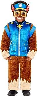 amscan Chase Paw Patrol - Disfraz infantil (4 a 6 años), color marrón y azul