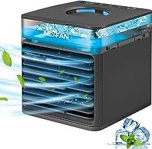 GHONLZIN Mobile Klimageräte, Mini Air Cooler, 4 in 1 Klimaanlage, Luftbefeuchter und..