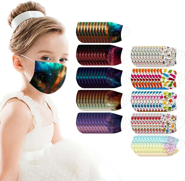 100Pcs Bargain Face_Mouth Kids Disposable_Face_Masks Car Cute gift Colorful
