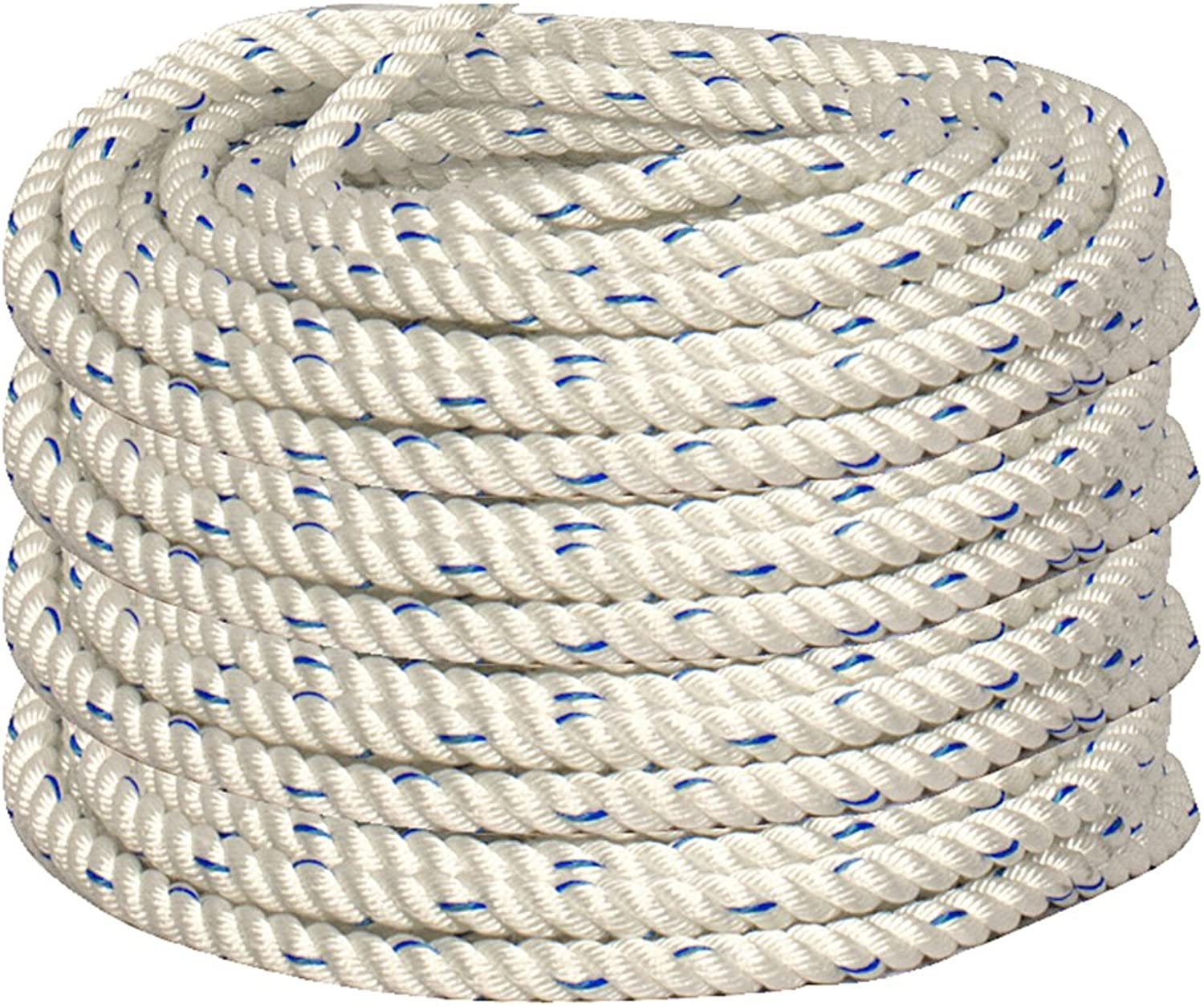 Madaco Roof Construction Fall Predection Heavy Duty Industrial Safety 100FT 3Strand Polypropylene Rope ANSI OSHA L100