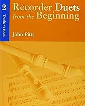 Recorder Duets from the Beginning: Teacher's Book 2