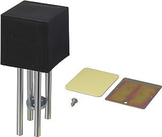 アイワ金属 チャイム ベル 強力磁石で取付 キューブチャイム ブラック AP-010K