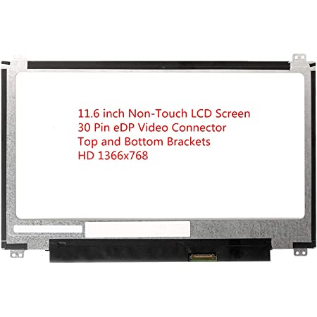 Panel Only BRIGHTFOCAL New LCD Screen for ASUS Chromebook C223N C223NA HD 1366x768 Replacement LCD LED Display