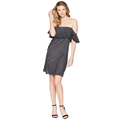 Young Fabulous & Broke Sangria Dress (Black Saind Oil Wash) Women
