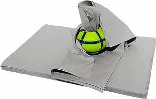 20 kg Packseide 50 x 75 cm grau, Seidenpapier Polsterpapier Geschirrpapier Packpapier tissue paper