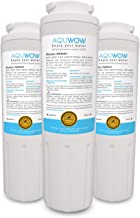 Refrigerator Water Filter Replacements 3-Pack for Maytag UKF8001, Whirlpool 4396395, EveryDrop EDR4RXD1, Pur FILTER 4, and Kenmore 46-9005 – NSF Certified Clean, Purified Drinking Water by AQUWOW