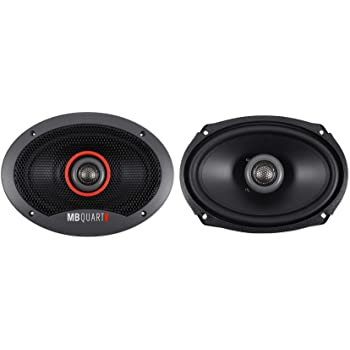 MB Quart XK1-116 6-1//2 X-Line Series 2-Way Coaxial Car Speakers