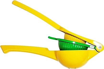 Manual Lemon Lime Squeezer - Citrus Fast Press Juicer - Dishwasher Safe, Made from Premium Aluminum