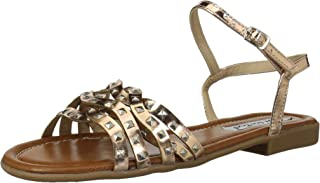 2 Lips Too Women's Too Eve Sandal Rose Gold 8.5 M US