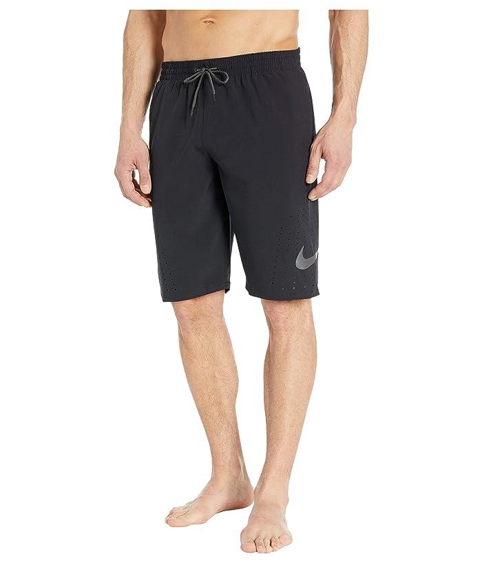 Nike  11 Onyx Flash Breaker Volley Shorts (Black) Mens Swimwear
