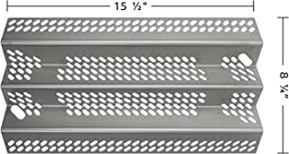 Music City Metals 90351 Stainless Steel Heat Plate Replacement for Gas Grill Models American Outdoor Grill 30NB and American Outdoor Grill 30PC