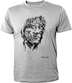 Rambo police format à la française BC Canada Hommes T Shirt Sylvester Stallone Film Soldier Tall