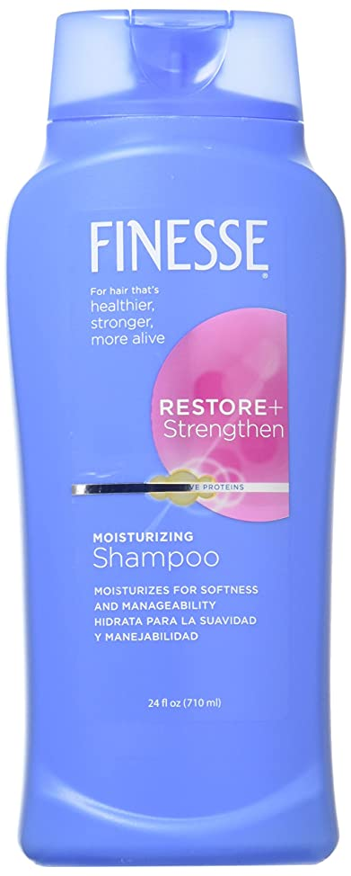 Finesse Restore & Strengthen Moisturizing Shampoo & Conditioner Combo 13 Oz Each