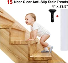Best wood stairs slippery solutions Reviews