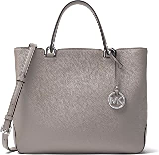 Michael Kors Anabelle Large Top Zip Leather Tote