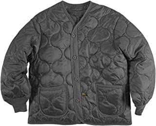 Alpha Industries Men's Als/92 Mid Length Zip Liner Jacket with Pockets