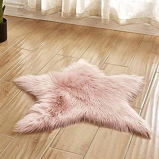 Jellbaby Alfombra de ba/ño con forma de coraz/ón para el suelo de la sala de estar suave