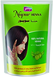 Godrej Nupur Henna, Natural Henna with Herbs, 100 g, FGHCNUPDX003
