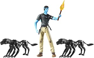 Avatar Viperwolf Attack with Jake Sully Figure
