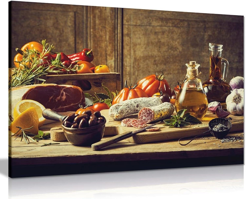 Küche Decor Wall Art Still Life Leinwand Kunstdruck Bild, A2 61x41 cm (24x16in) B07BH28PPK