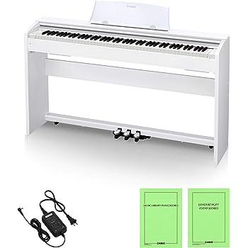 カシオ CASIO 88鍵盤 電子 ピアノ Privia PX-770WE ホワイトウッド調