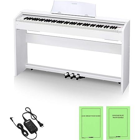 CASIO(カシオ) 88鍵盤 電子ピアノ Privia PX-770WE ホワイトウッド調