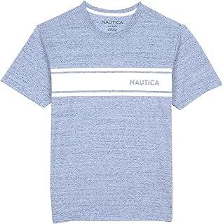 Boys' Short Sleeve Striped Crew-Neck T-Shirt