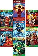 LEGO® Ninjago Reader Pack: 7 Book Set: #1: Way of the Ninja / #2: Masters of Spinjitzu / #3: The Golden Weapons / #4: Rise of the Snakes / #5: A Ninja's Path / #6 Pirates vs. Ninja / #7 The Green Ninja