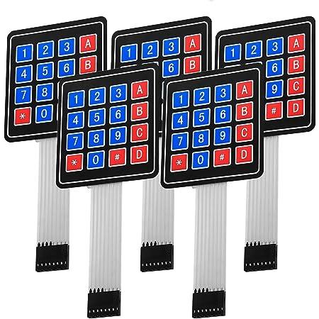 Demiawaking 5 X 4 X 4 Matrix Array 16 Schlüssel Membran Computer Zubehör
