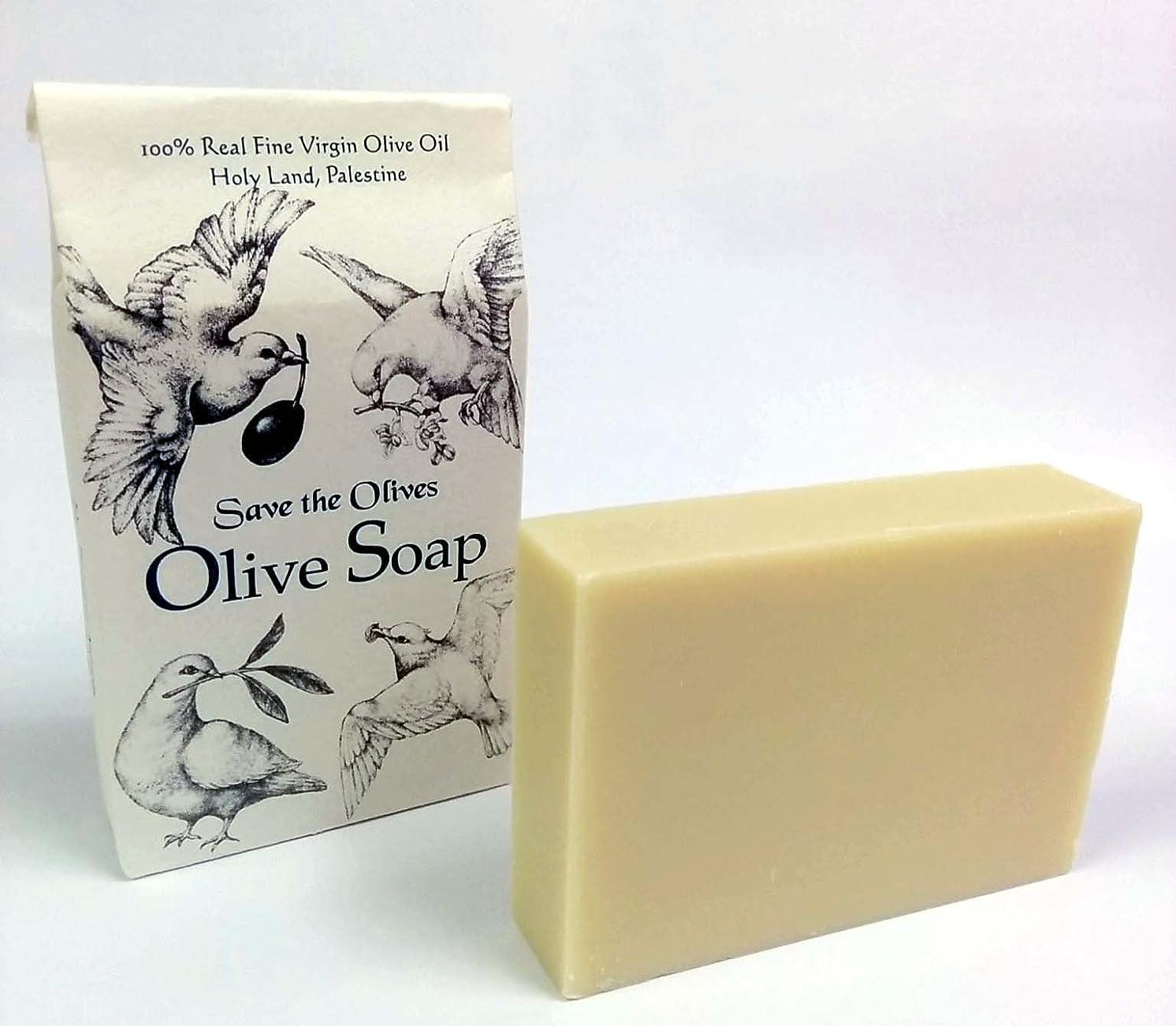 バレーボールはい主張[パレスチナ]セーブ?ザ?オリーブのオリーブ石けん ノーマルタイプ80g Olive Soap made from Palestinian Olive Oil