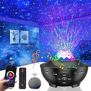 پروژکتور گلکسی پروژکتور برای اتاق خواب ، پروژکتور Vercarnon Smart WiFi پروژکتور نور شب Galaxy از راه دور